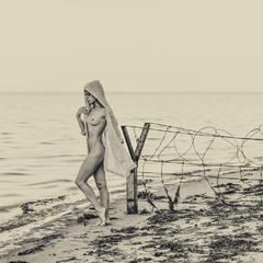Океан, я один на один с тобой