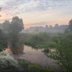Утро на речке Боровой