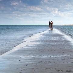 Дорога в море.