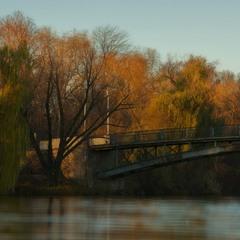 Осенний мост.