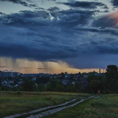 Вечерний дождь