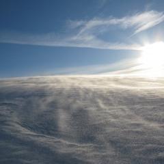 Снежная пыль...