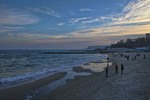 Тёплый вечер у моря