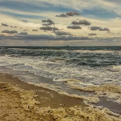 Намолотило море пены морской...