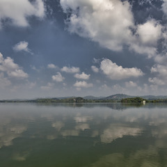 Озеро Коггала утром
