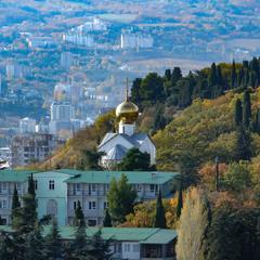 Крым зимний