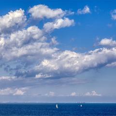 Самое синее в мире Чёрное море  моё