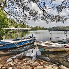 На озере  Когалла