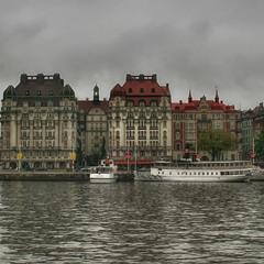 Сумрачный  Стокгольм