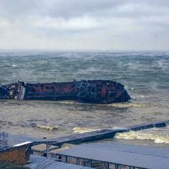 Бедствие у берегов Одессы