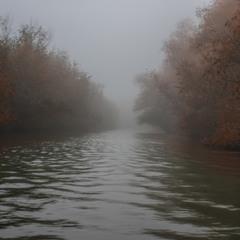 Ноябрьский туман на Турунчуке