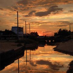 Небо - золотая река
