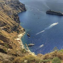Бухта Санторини