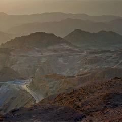Дорога к Мёртвому морю