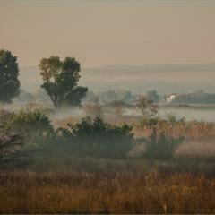 Теплим,осіннім ранком.