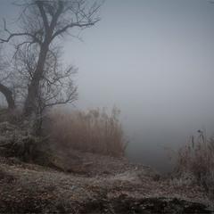 """Туман на Кам""""яному озері."""