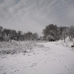 Сьогодні вранці зима.
