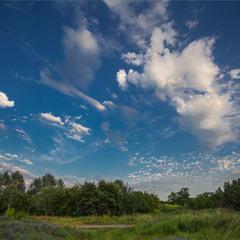 Про хмари на небі.
