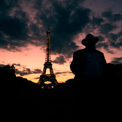 Paris... the city of strangers...