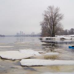 зимняя рыбалка....