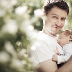 Семейные фотографии для журнала Домашний очаг