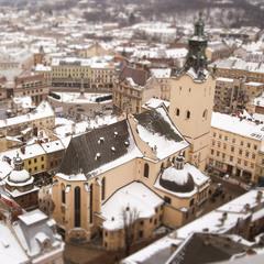 Зима у Львові
