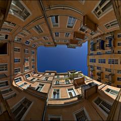 Панорамка Одесского двора